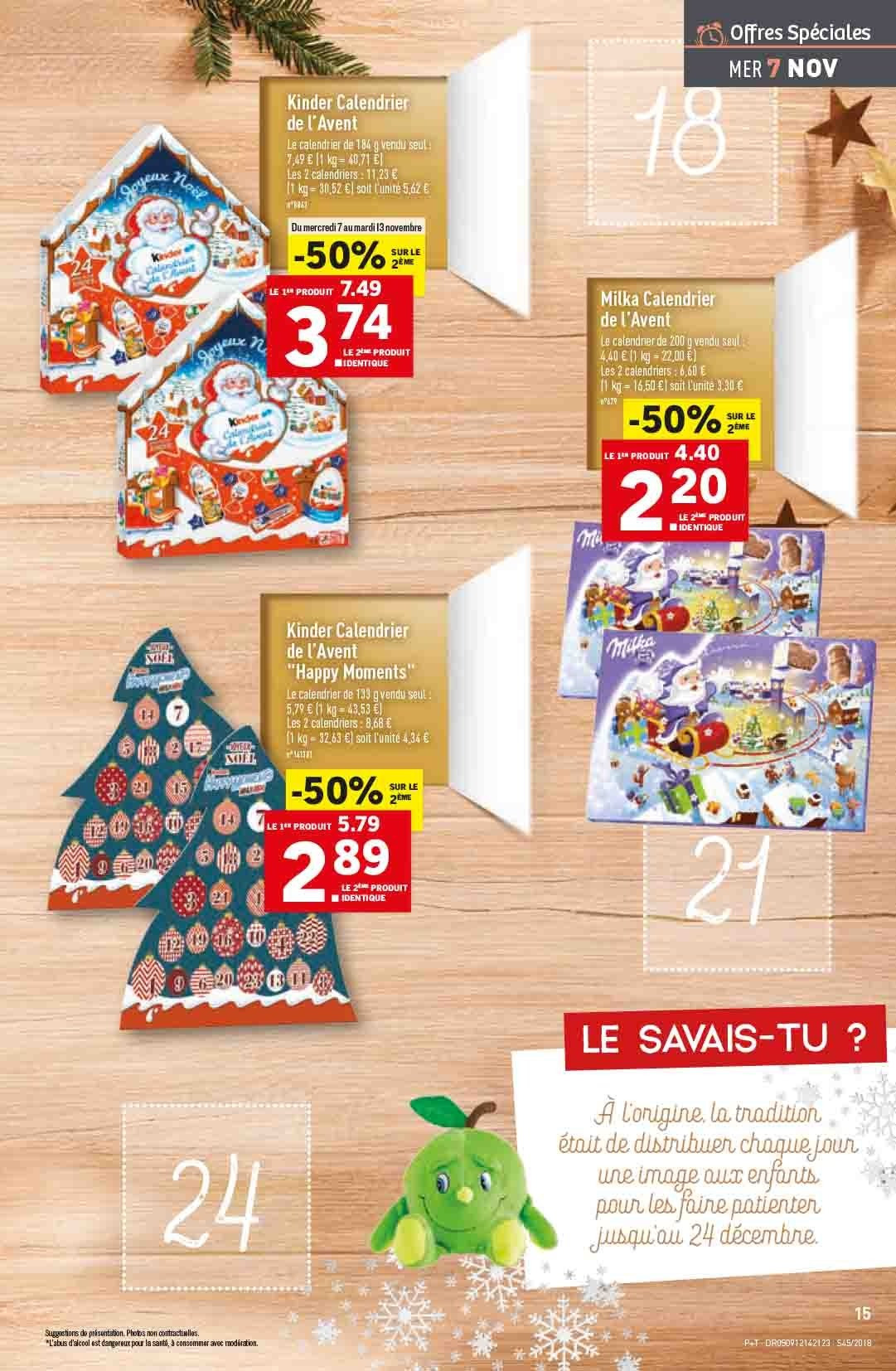 Catalogue Lidl - 07.11.2018 - 13.11.2018. Page 15.