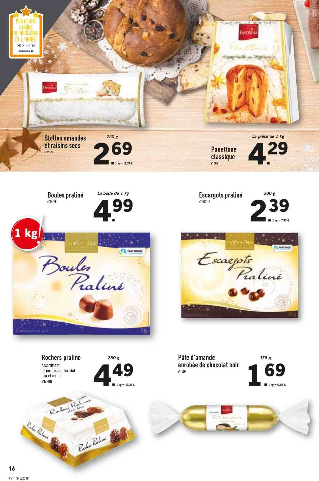Catalogue Lidl - 07.11.2018 - 13.11.2018. Page 16.