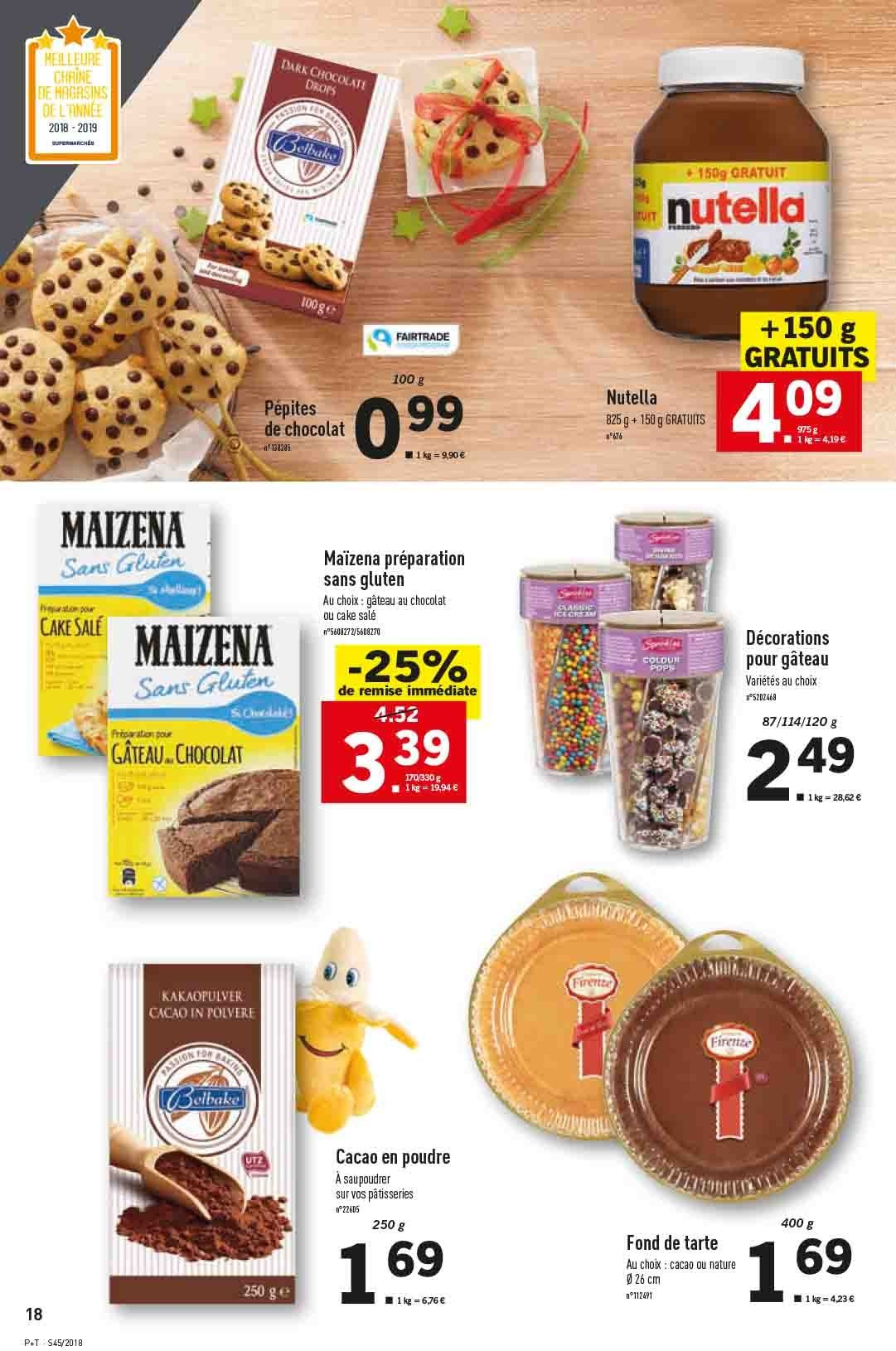Catalogue Lidl - 07.11.2018 - 13.11.2018. Page 18.