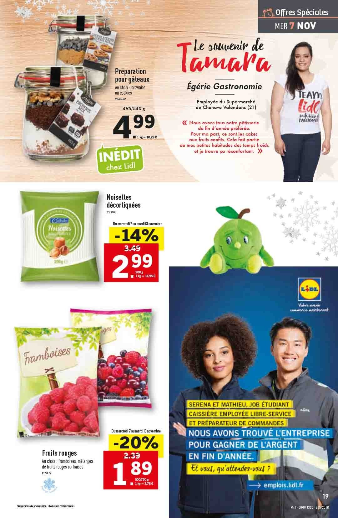 Catalogue Lidl - 07.11.2018 - 13.11.2018. Page 19.