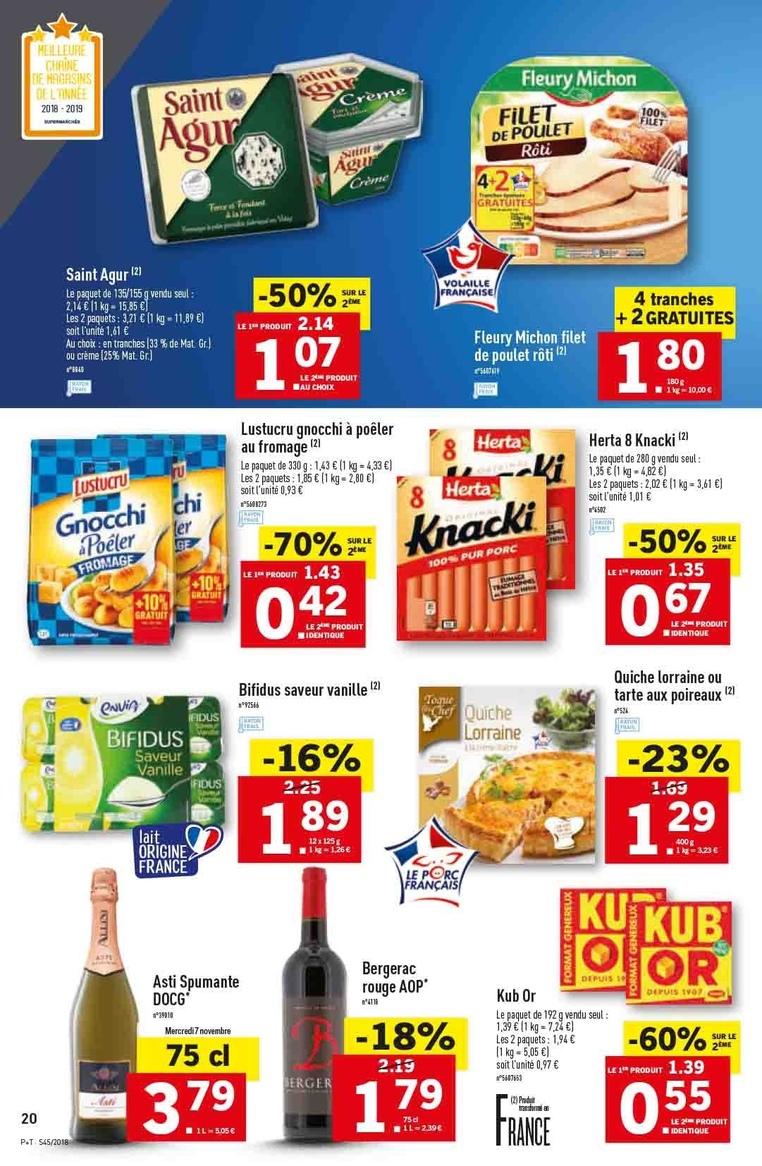 Catalogue Lidl - 07.11.2018 - 13.11.2018. Page 20.