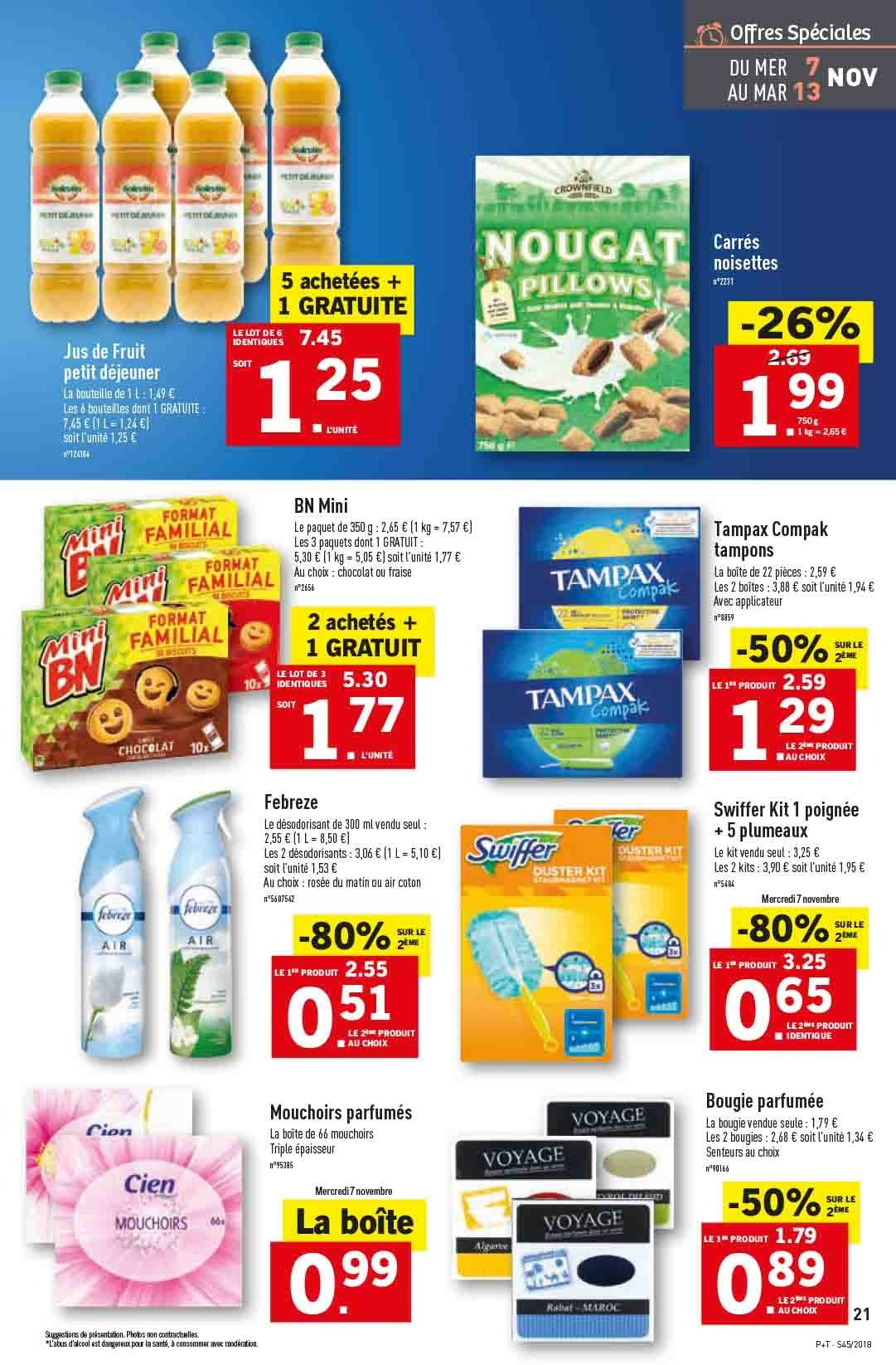 Catalogue Lidl - 07.11.2018 - 13.11.2018. Page 21.
