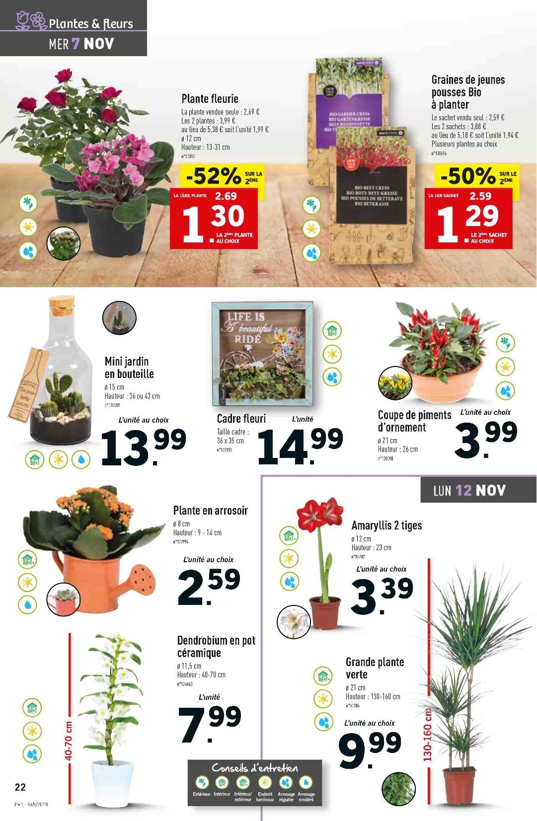 Catalogue Lidl - 07.11.2018 - 13.11.2018. Page 22.