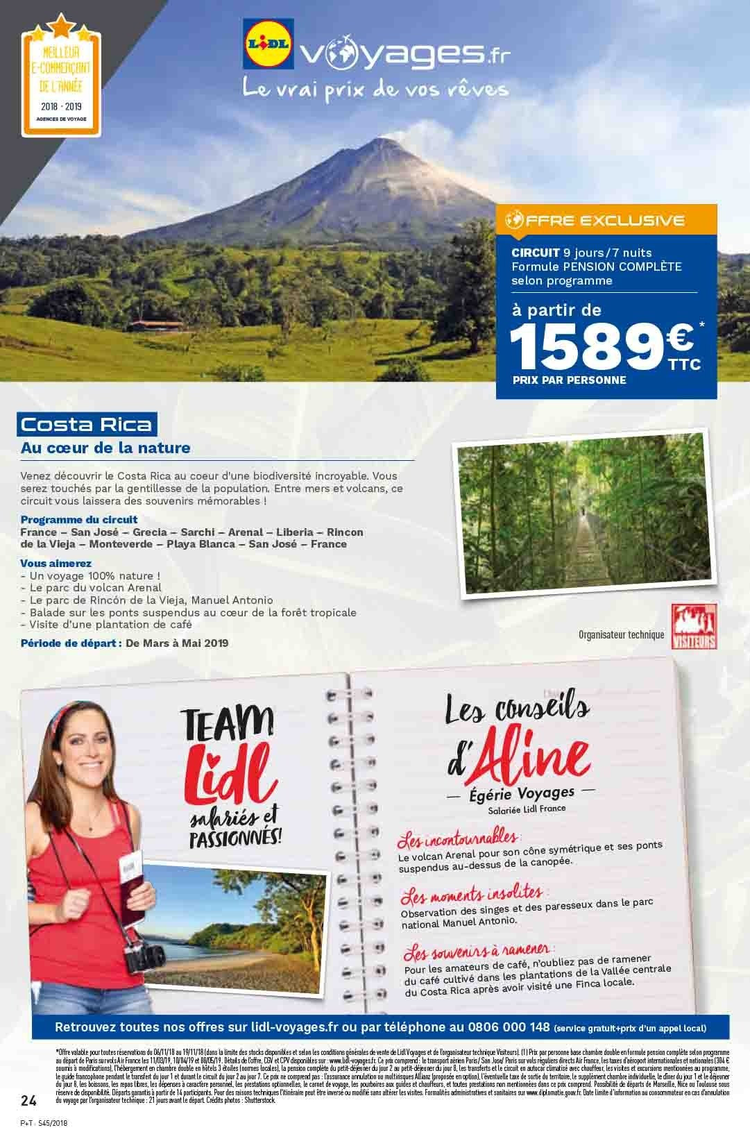 Catalogue Lidl - 07.11.2018 - 13.11.2018. Page 24.