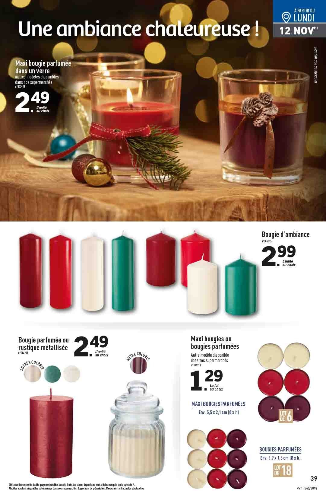 Catalogue Lidl - 07.11.2018 - 13.11.2018. Page 39.