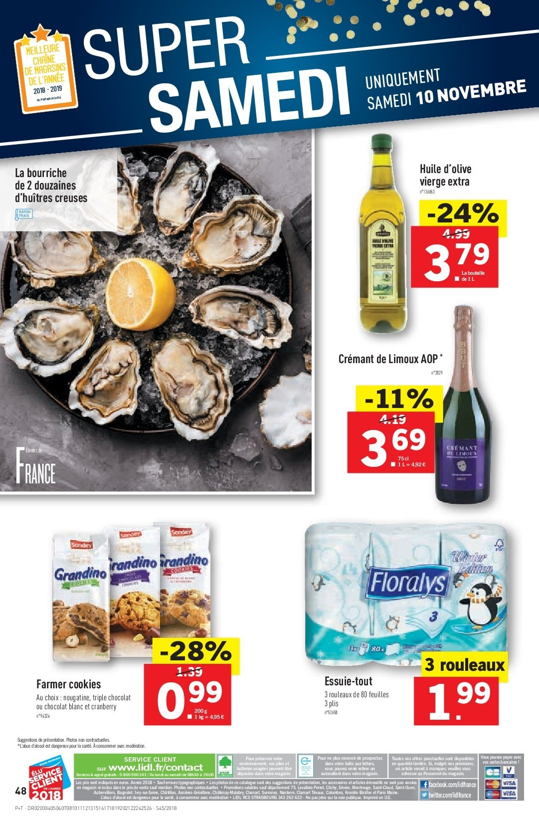 Catalogue Lidl - 07.11.2018 - 13.11.2018. Page 48.