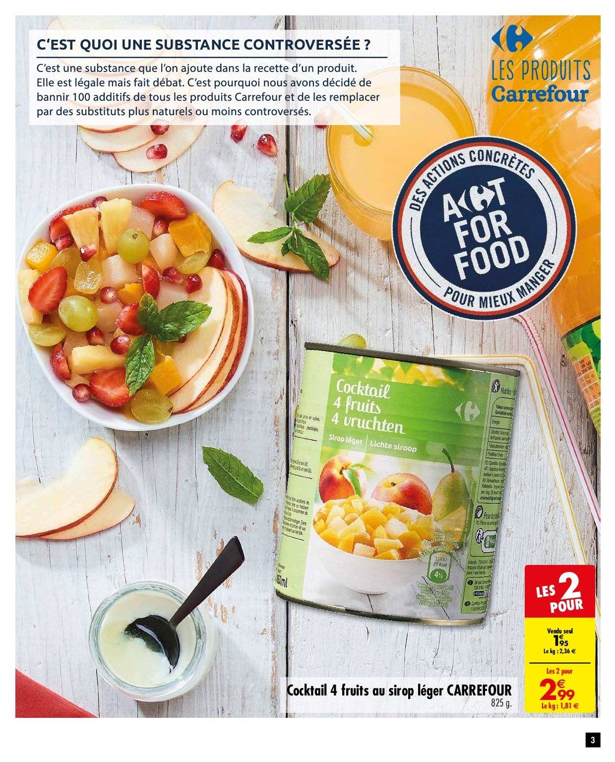 Catalogue Carrefour - 06.11.2018 - 19.11.2018. Page 3.