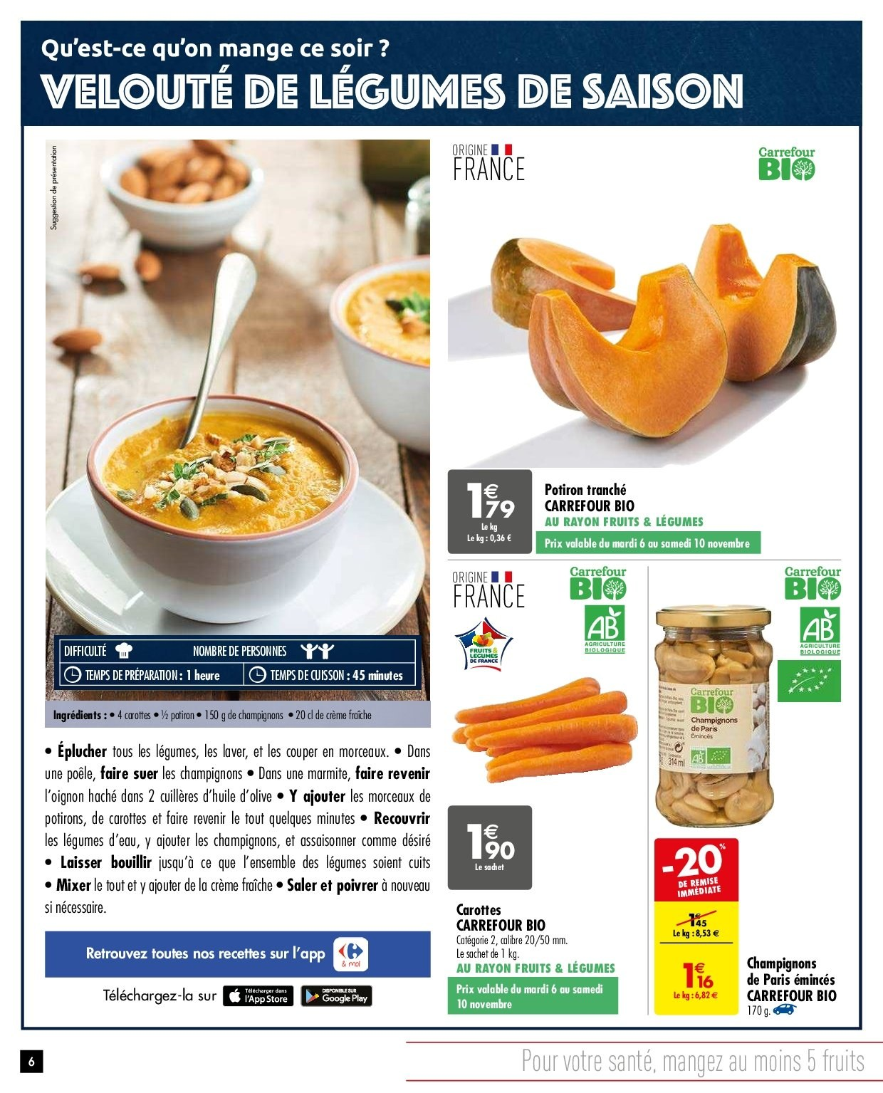Catalogue Carrefour - 06.11.2018 - 19.11.2018. Page 6.