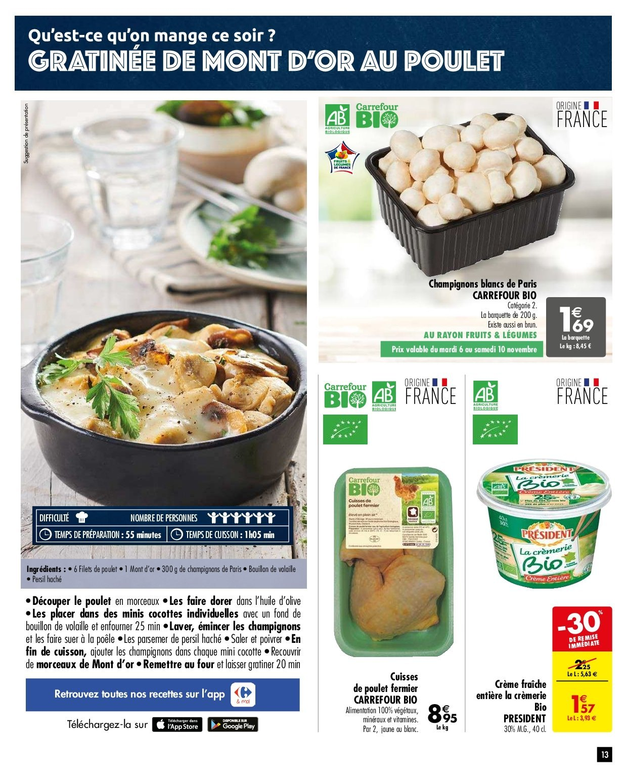 Catalogue Carrefour - 06.11.2018 - 19.11.2018. Page 13.