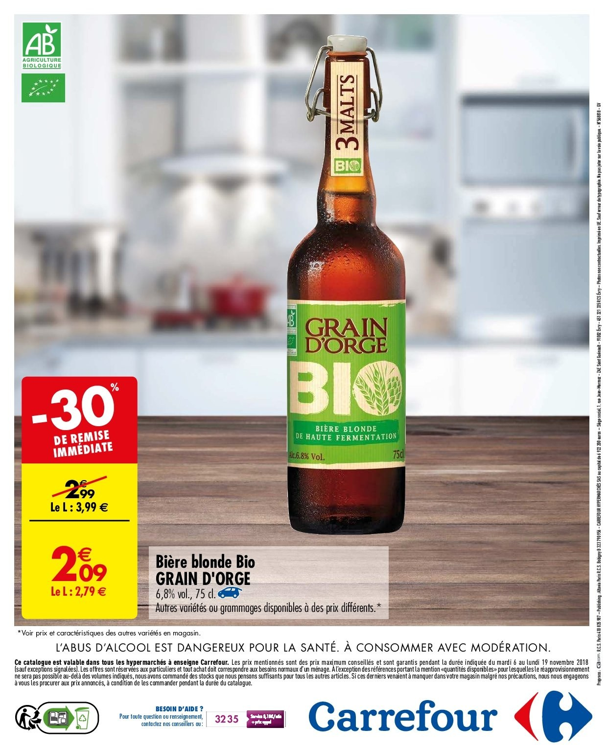 Catalogue Carrefour - 06.11.2018 - 19.11.2018. Page 16.