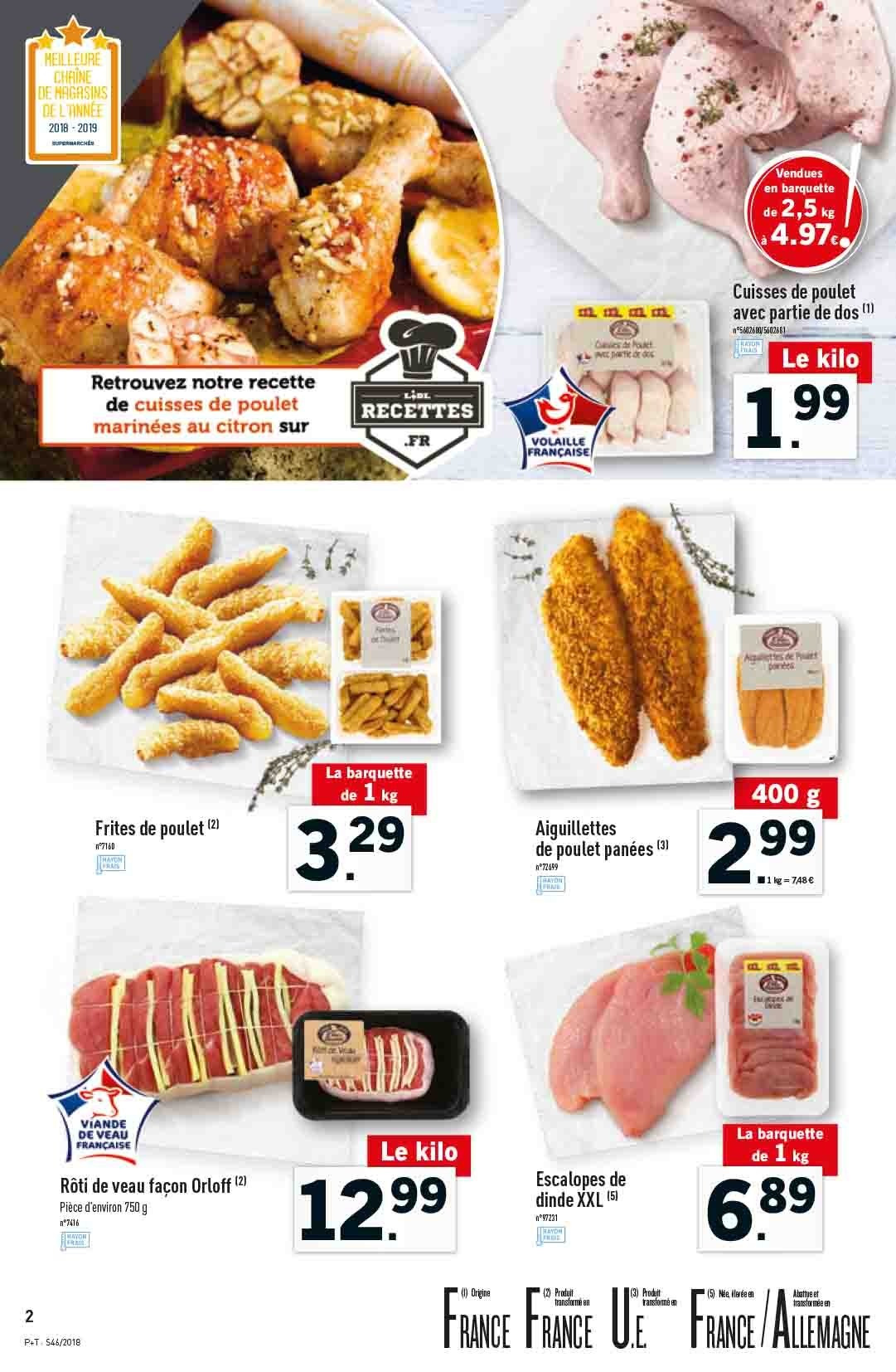 Catalogue Lidl - 14.11.2018 - 20.11.2018. Page 2.