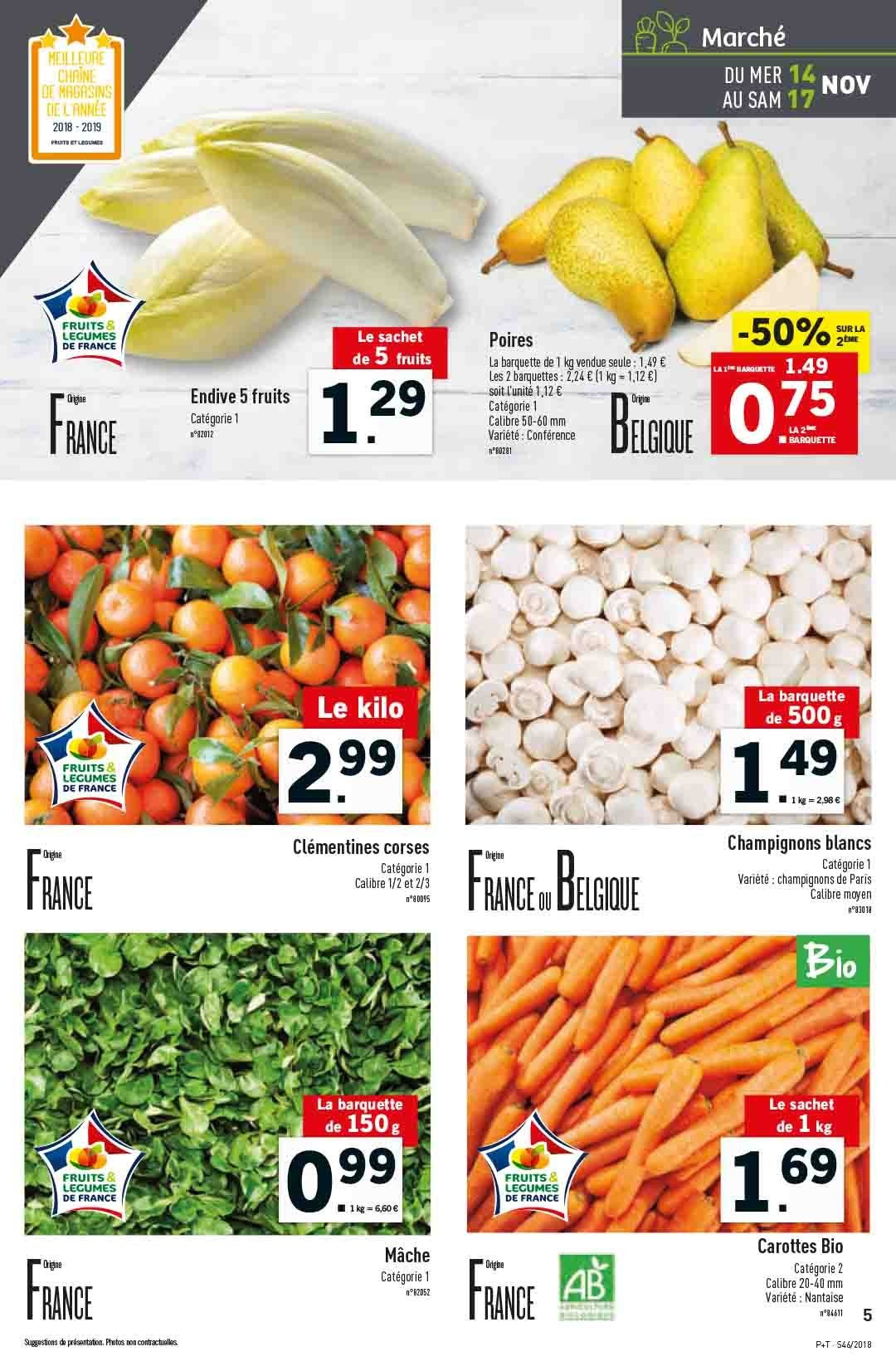 Catalogue Lidl - 14.11.2018 - 20.11.2018. Page 5.