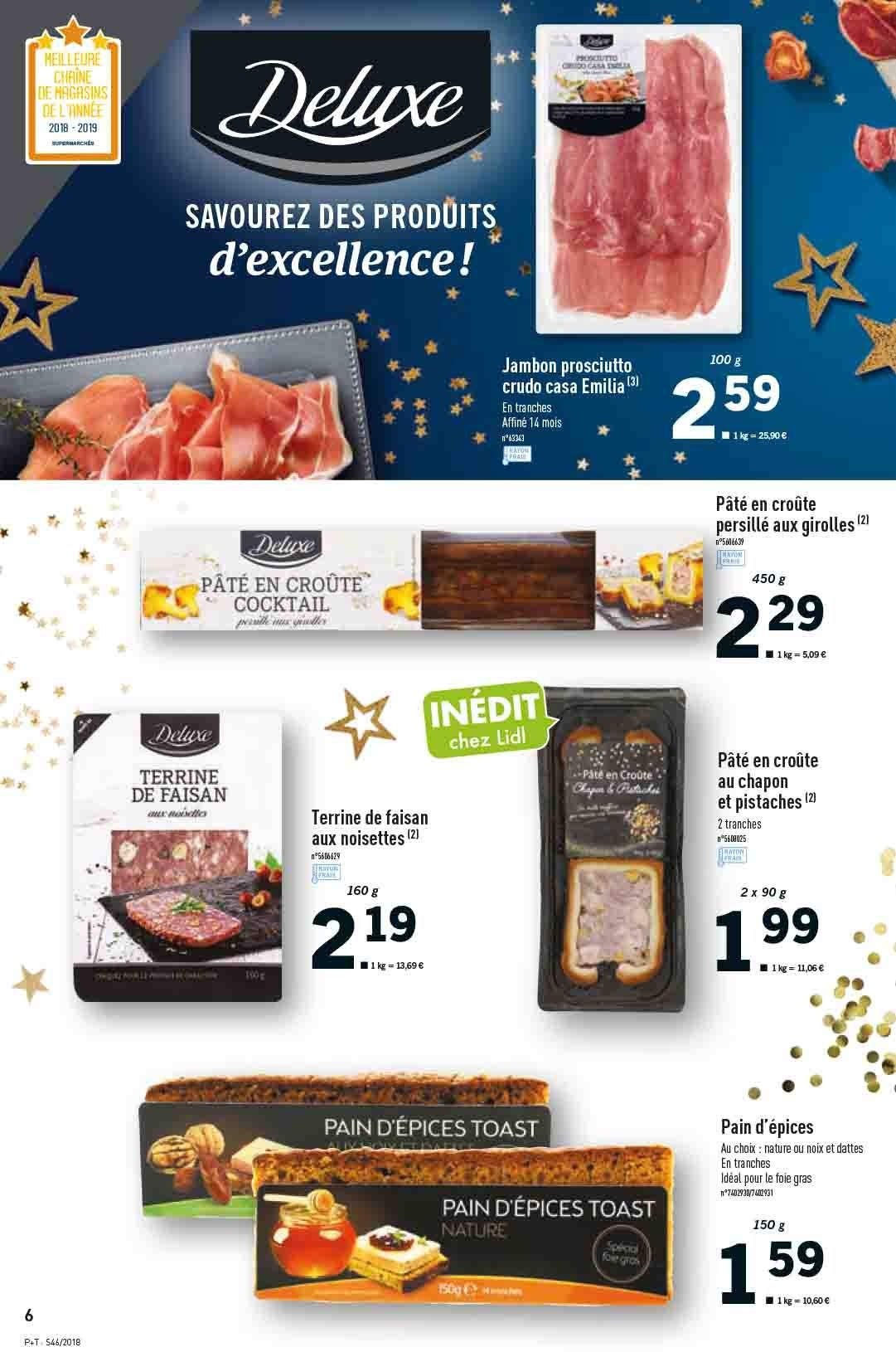 Catalogue Lidl - 14.11.2018 - 20.11.2018. Page 6.