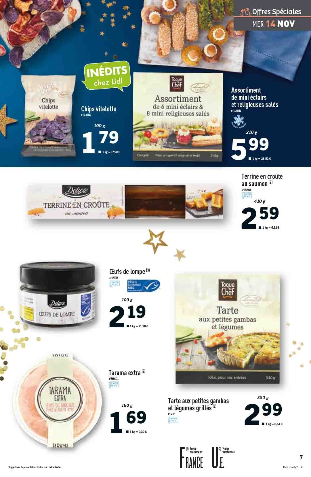 Catalogue Lidl - 14.11.2018 - 20.11.2018. Page 7.