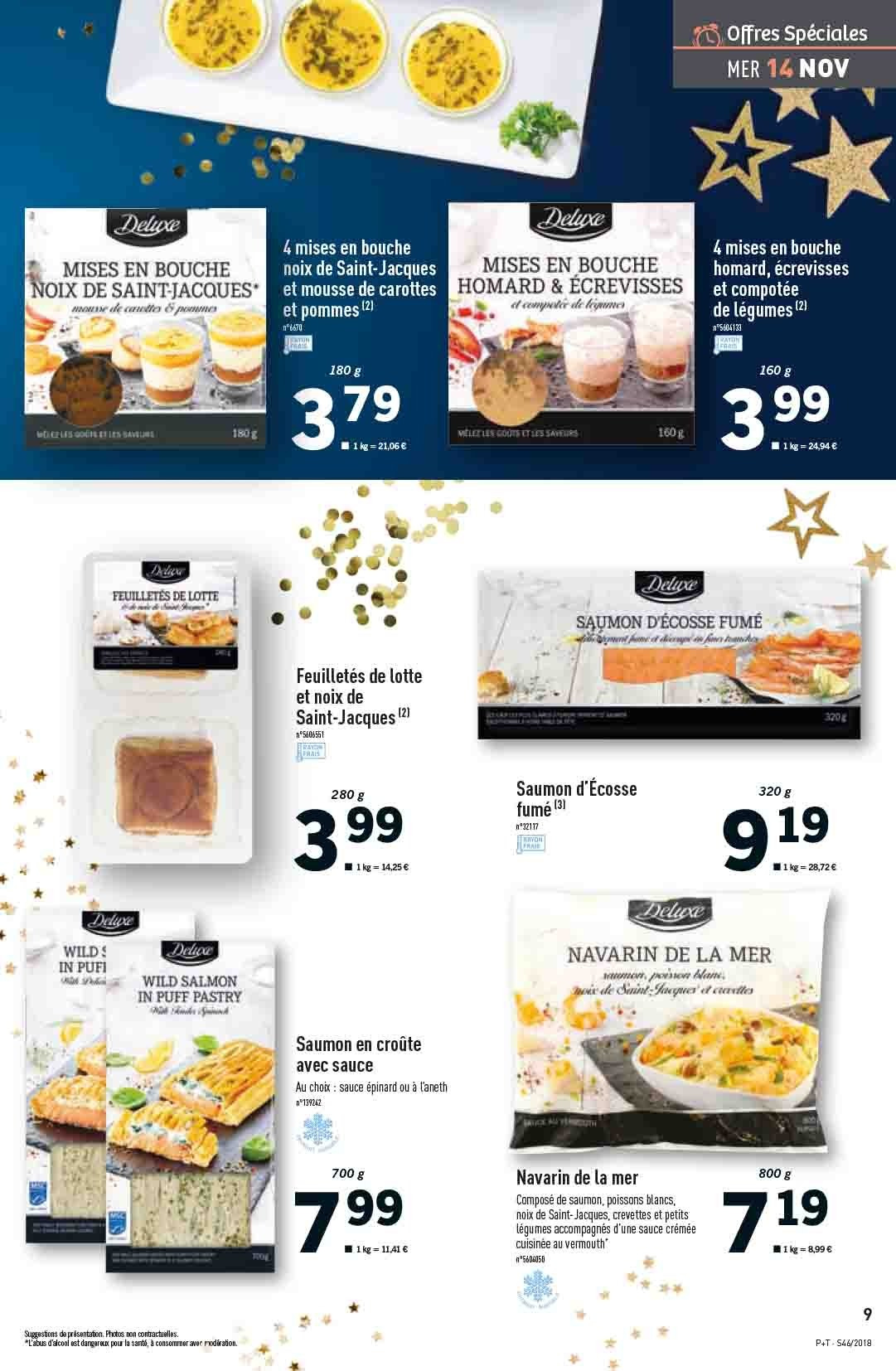 Catalogue Lidl - 14.11.2018 - 20.11.2018. Page 9.