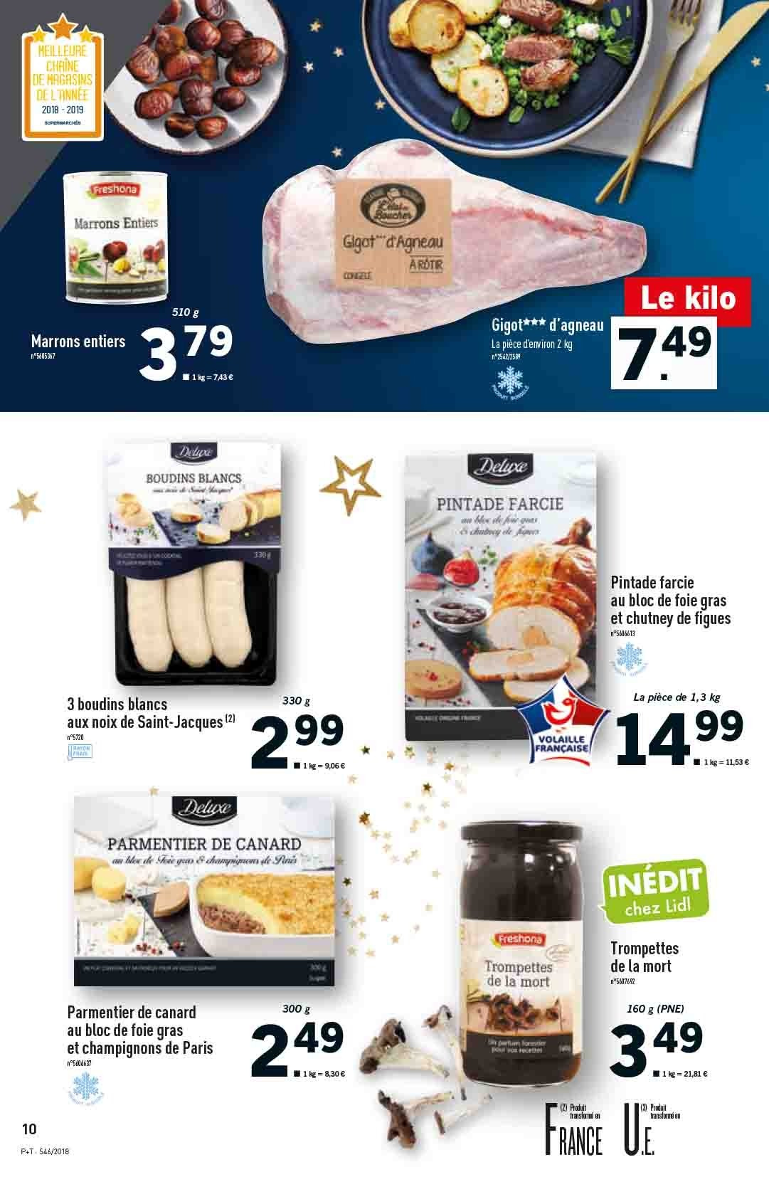 Catalogue Lidl - 14.11.2018 - 20.11.2018. Page 10.