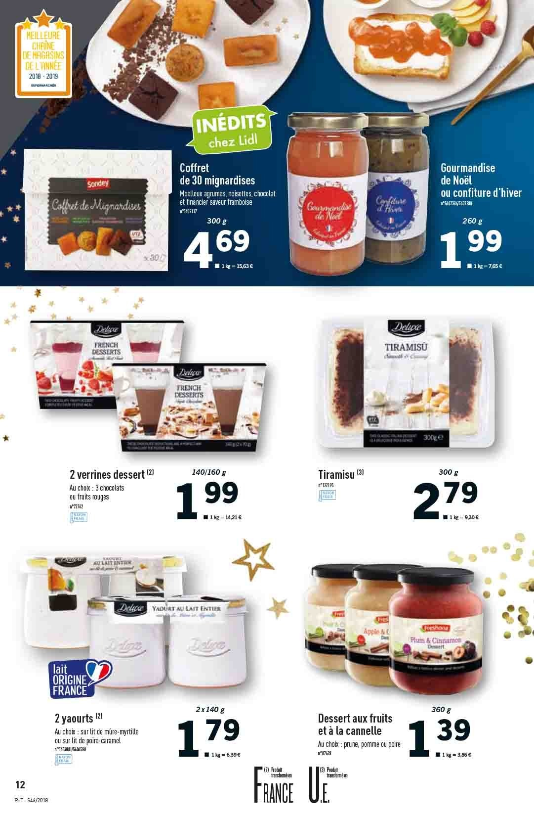 Catalogue Lidl - 14.11.2018 - 20.11.2018. Page 12.
