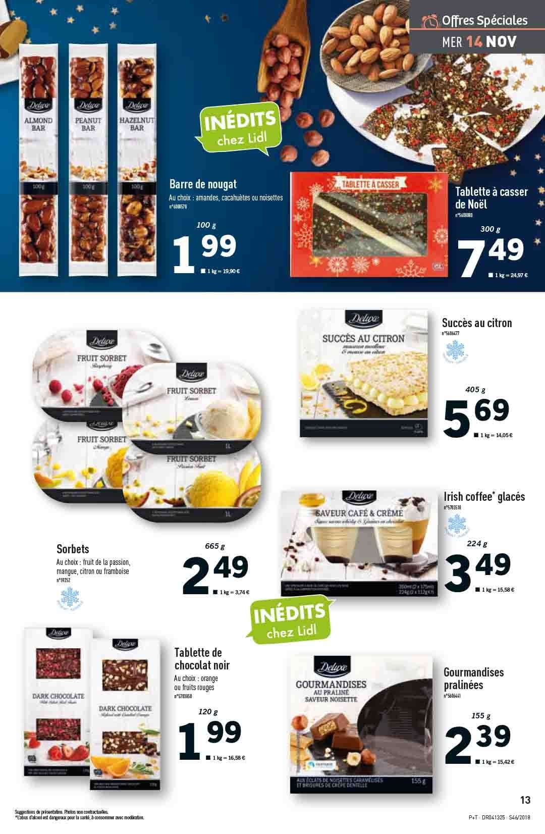 Catalogue Lidl - 14.11.2018 - 20.11.2018. Page 13.