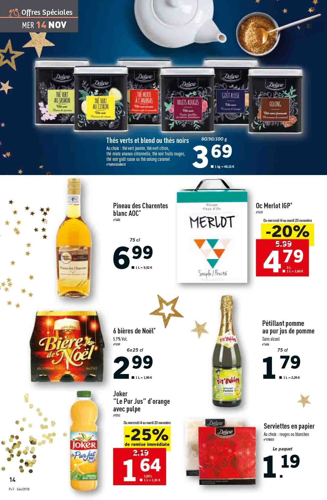 Catalogue Lidl - 14.11.2018 - 20.11.2018. Page 14.