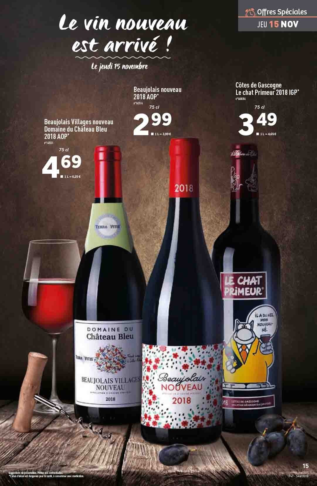 Catalogue Lidl - 14.11.2018 - 20.11.2018. Page 15.