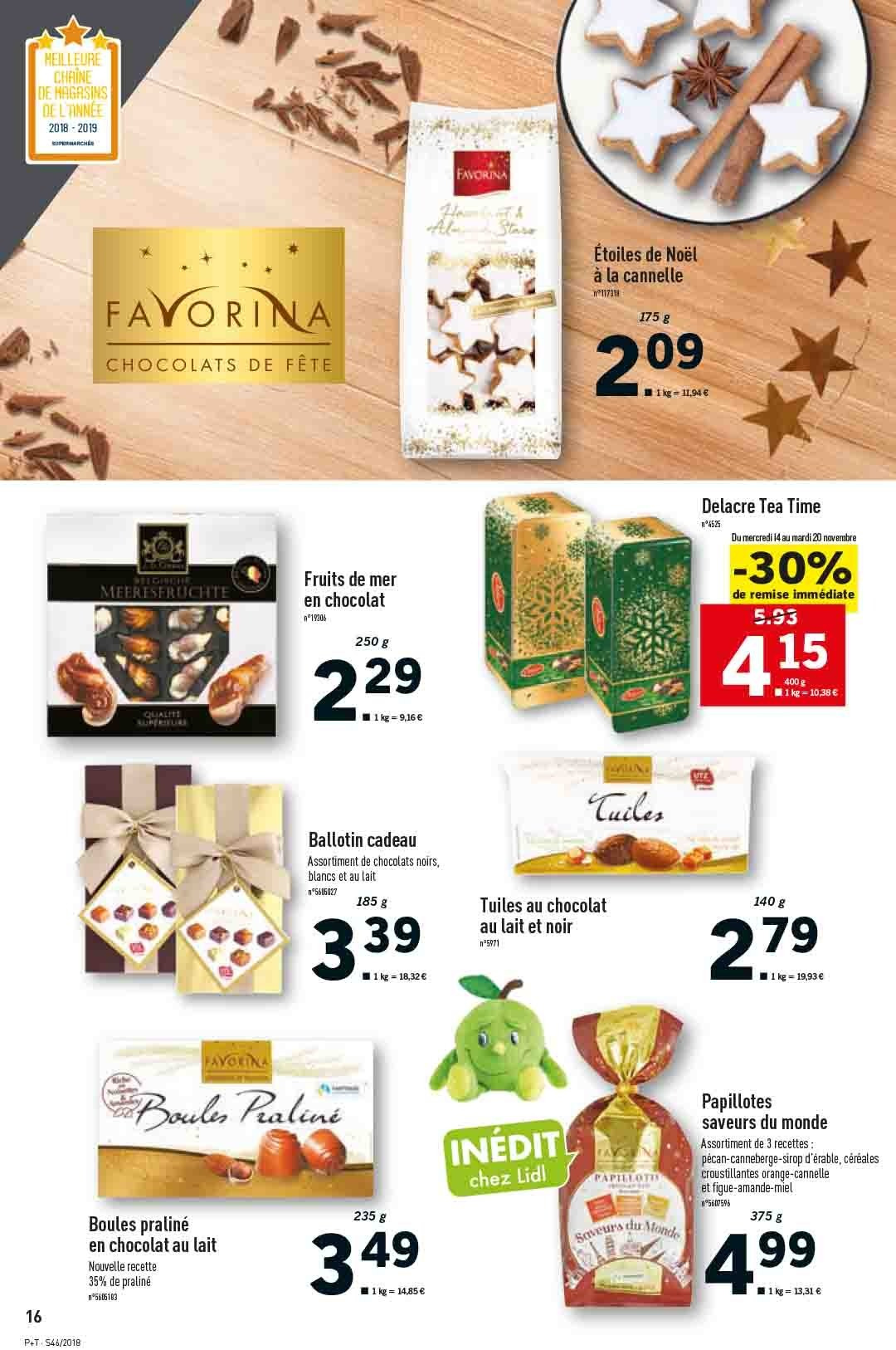 Catalogue Lidl - 14.11.2018 - 20.11.2018. Page 16.
