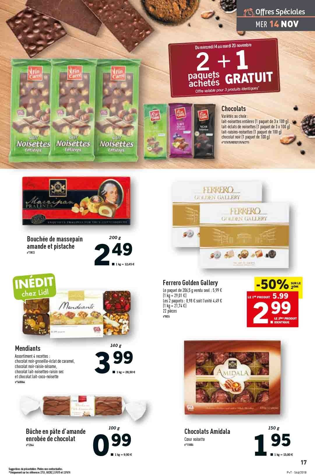 Catalogue Lidl - 14.11.2018 - 20.11.2018. Page 17.
