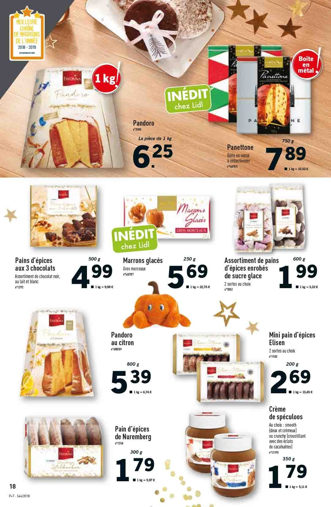 Catalogue Lidl - 14.11.2018 - 20.11.2018. Page 18.