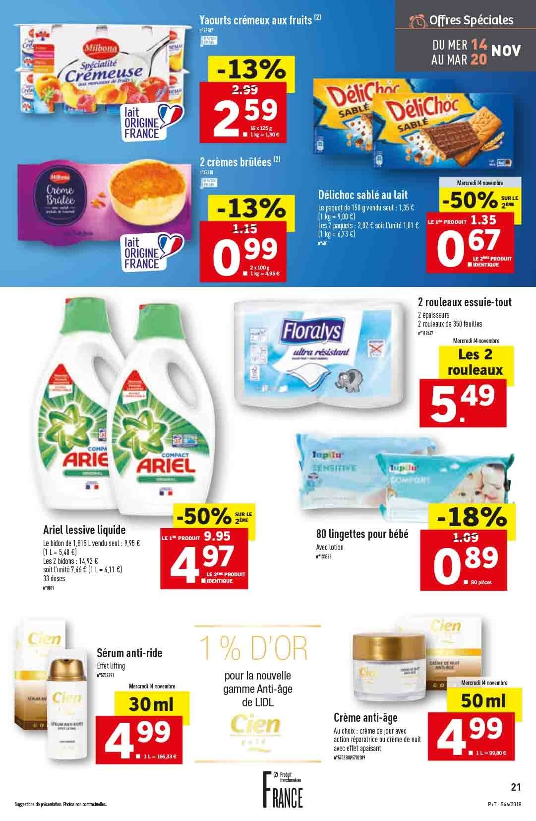 Catalogue Lidl - 14.11.2018 - 20.11.2018. Page 21.