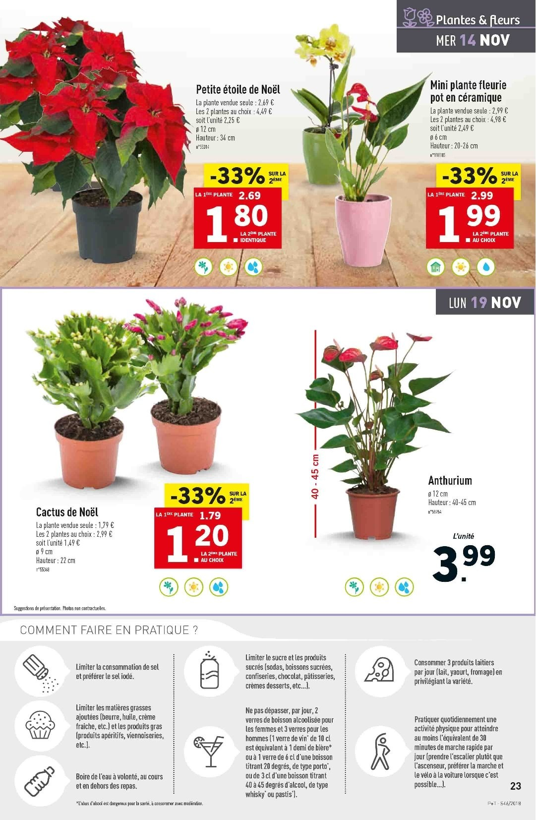 Catalogue Lidl - 14.11.2018 - 20.11.2018. Page 23.