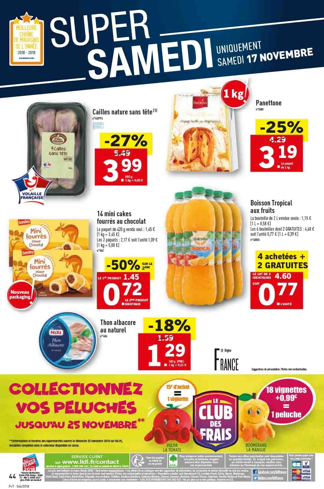 Catalogue Lidl - 14.11.2018 - 20.11.2018. Page 44.