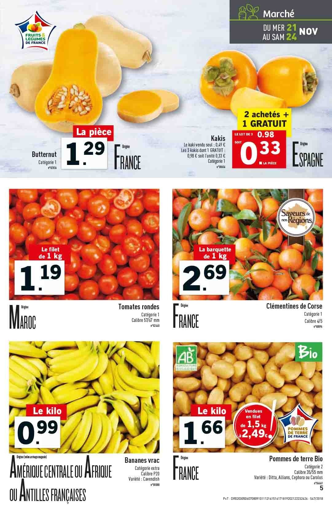 Catalogue Lidl - 21.11.2018 - 27.11.2018. Page 5.