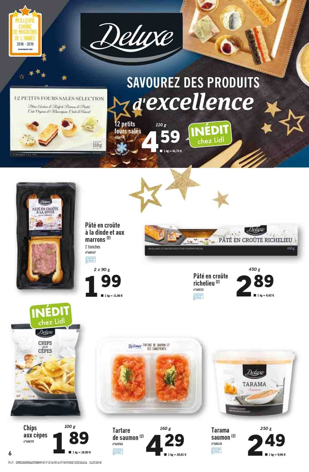 Catalogue Lidl - 21.11.2018 - 27.11.2018. Page 6.