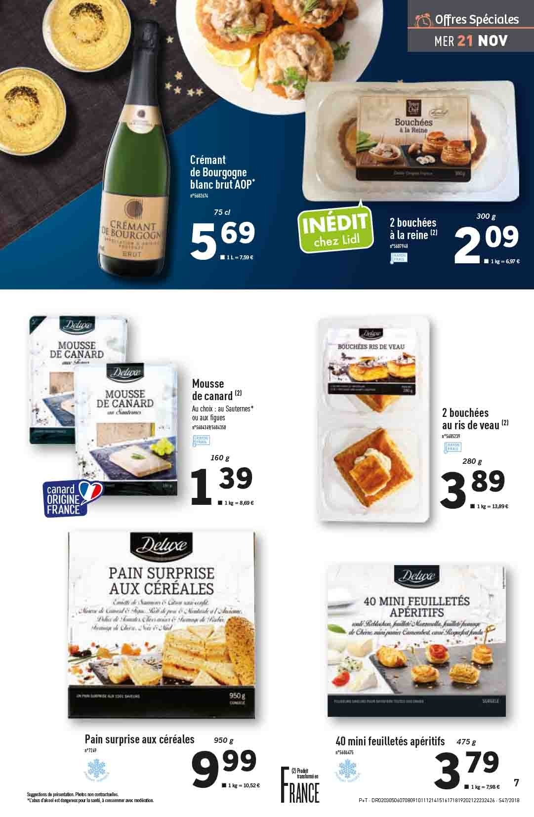 Catalogue Lidl - 21.11.2018 - 27.11.2018. Page 7.