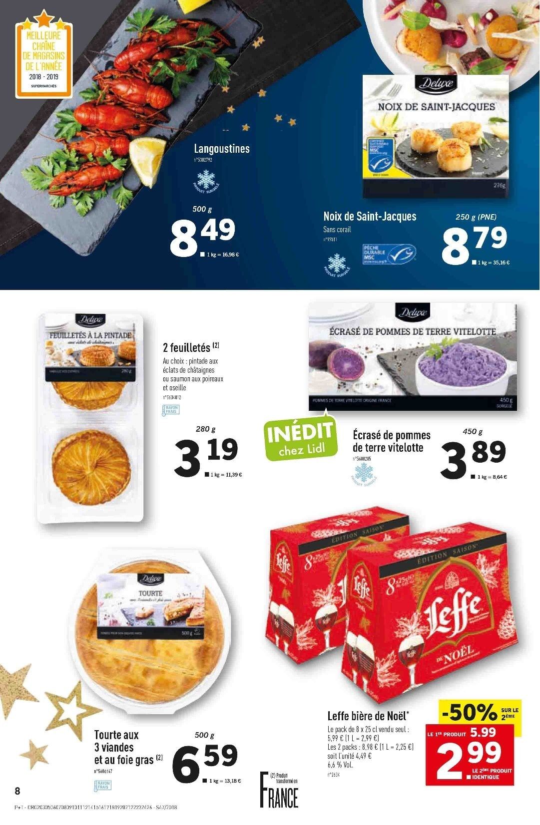 Catalogue Lidl - 21.11.2018 - 27.11.2018. Page 8.