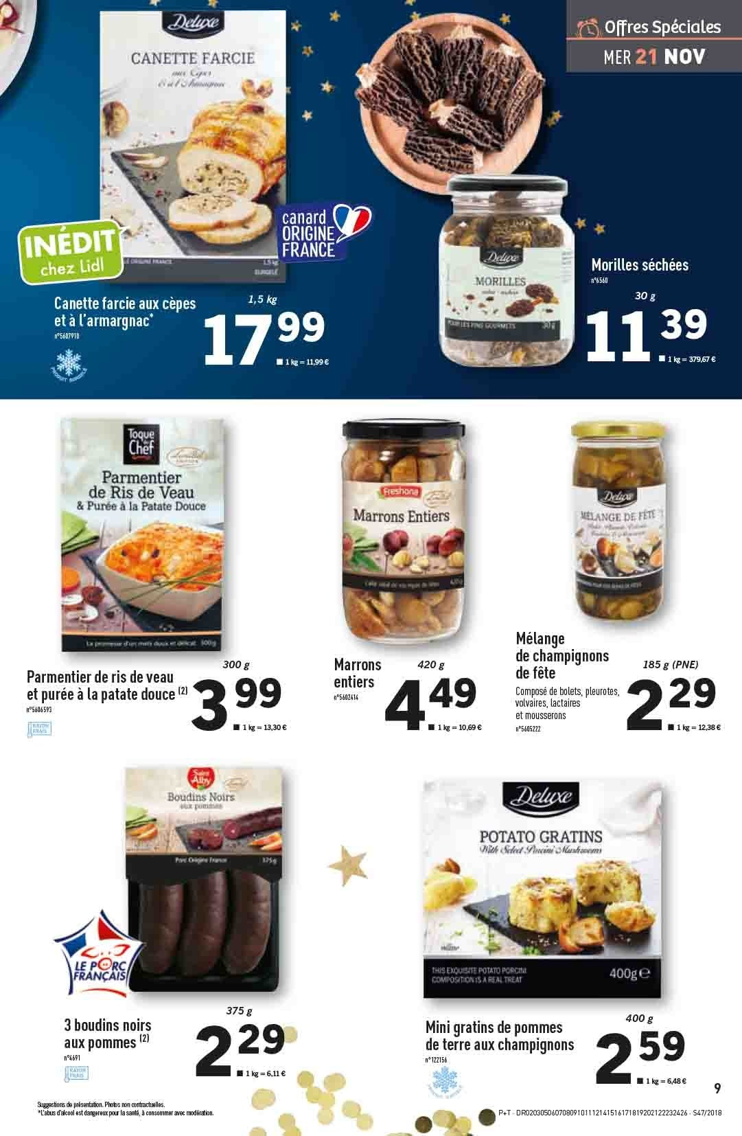 Catalogue Lidl - 21.11.2018 - 27.11.2018. Page 9.