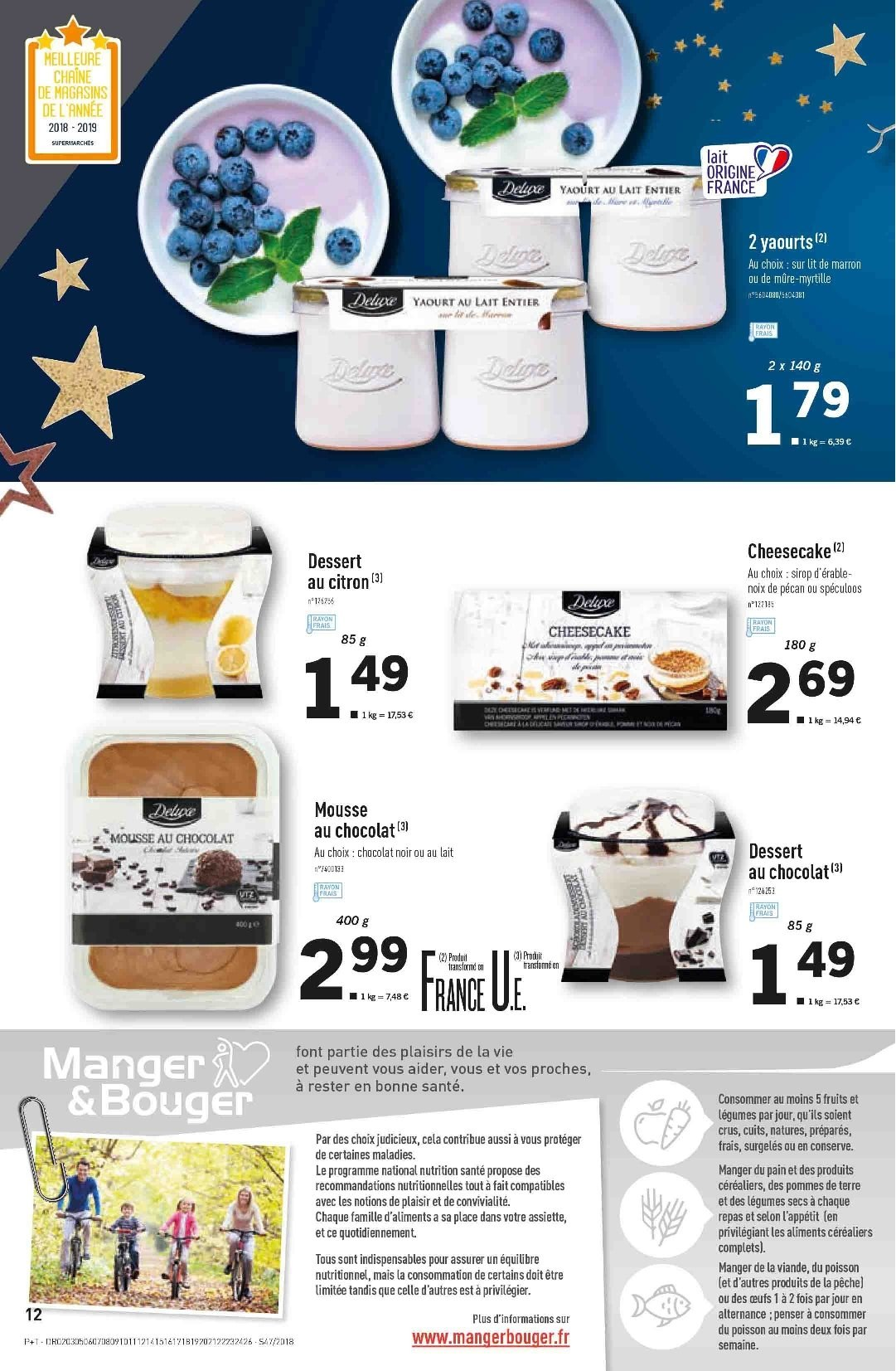 Catalogue Lidl - 21.11.2018 - 27.11.2018. Page 12.