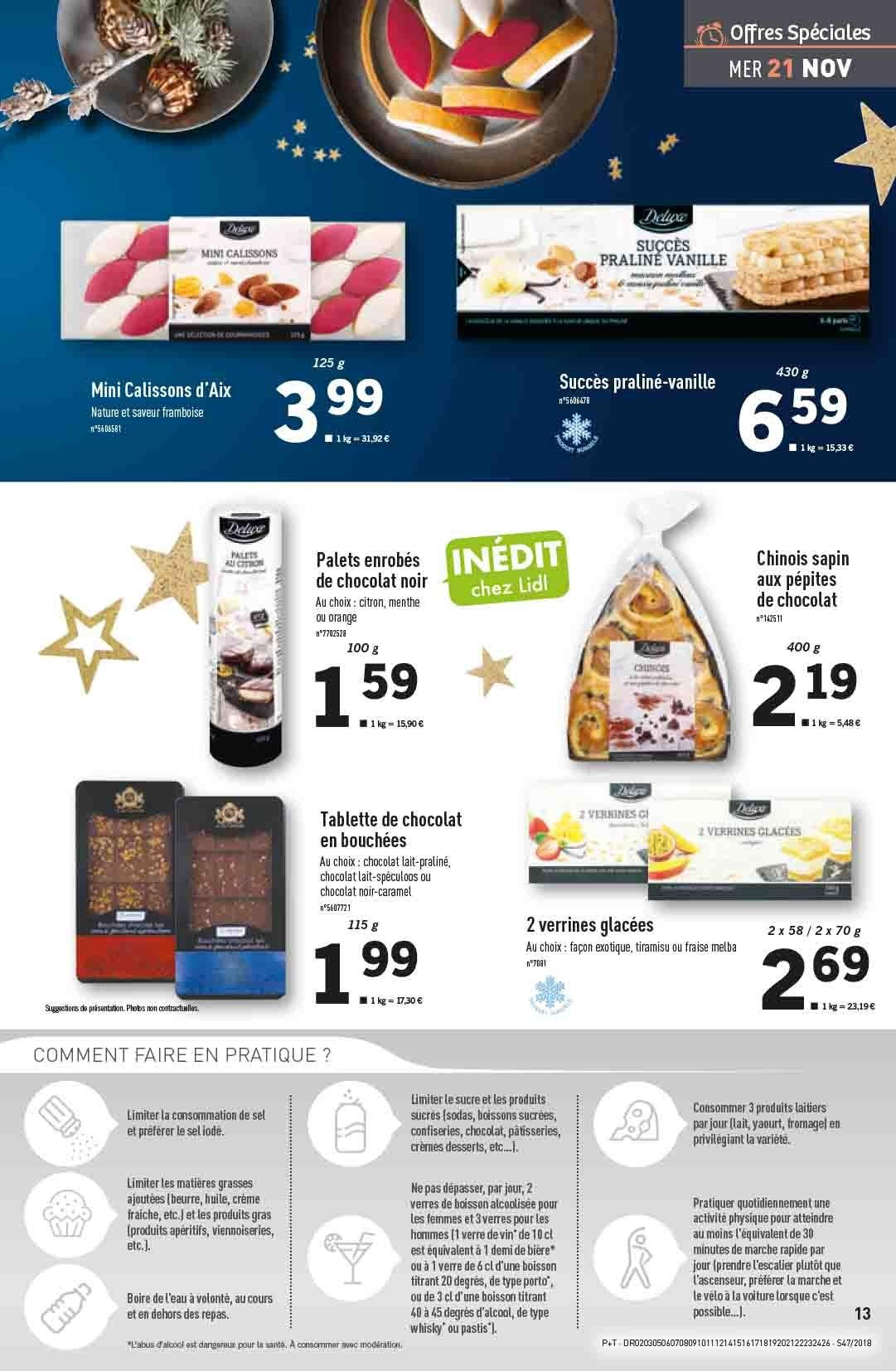 Catalogue Lidl - 21.11.2018 - 27.11.2018. Page 13.