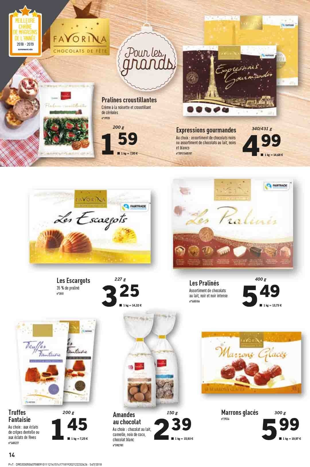 Catalogue Lidl - 21.11.2018 - 27.11.2018. Page 14.