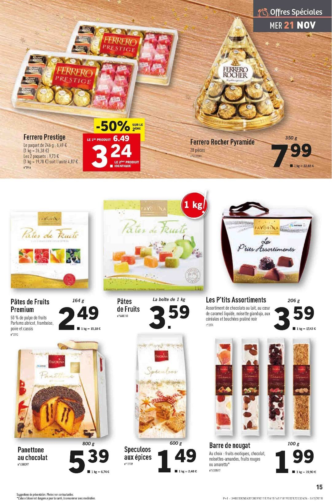 Catalogue Lidl - 21.11.2018 - 27.11.2018. Page 15.