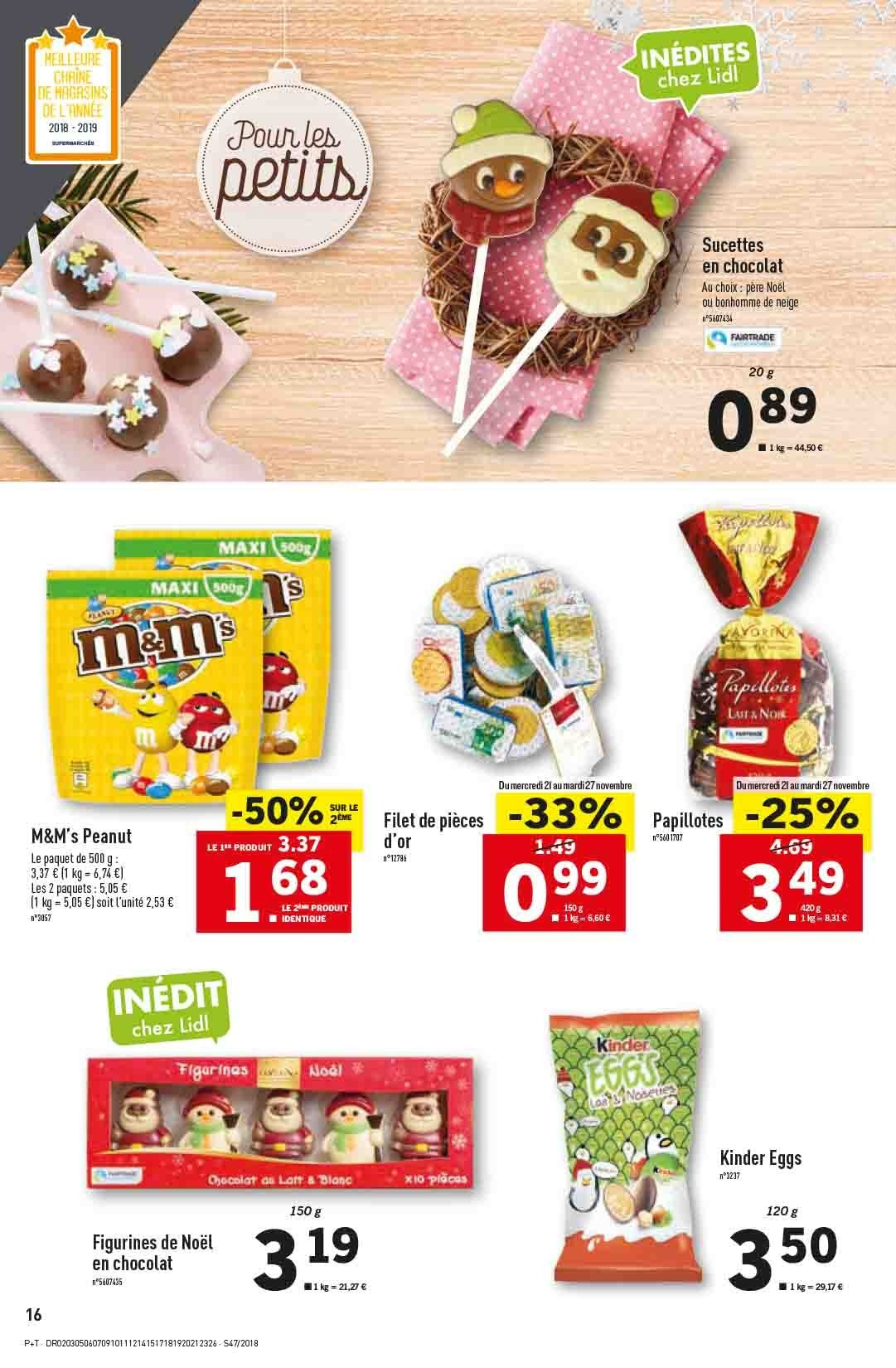 Catalogue Lidl - 21.11.2018 - 27.11.2018. Page 16.