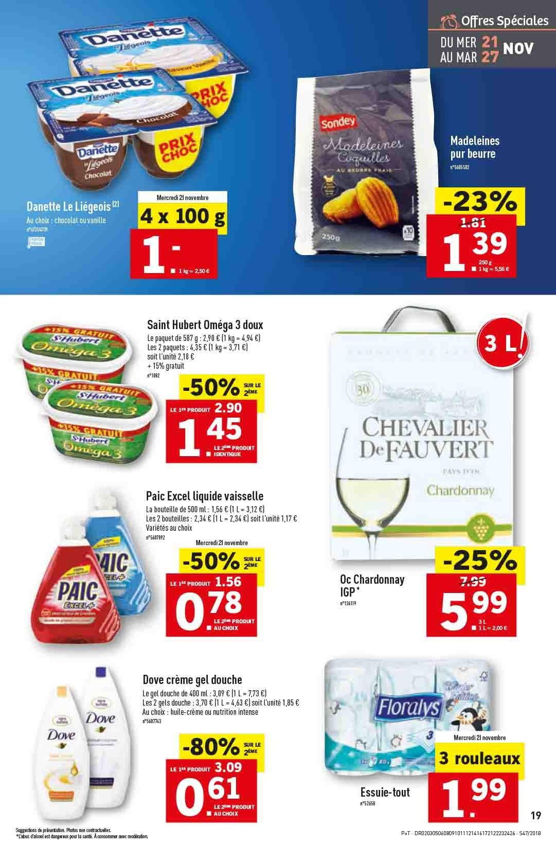 Catalogue Lidl - 21.11.2018 - 27.11.2018. Page 19.