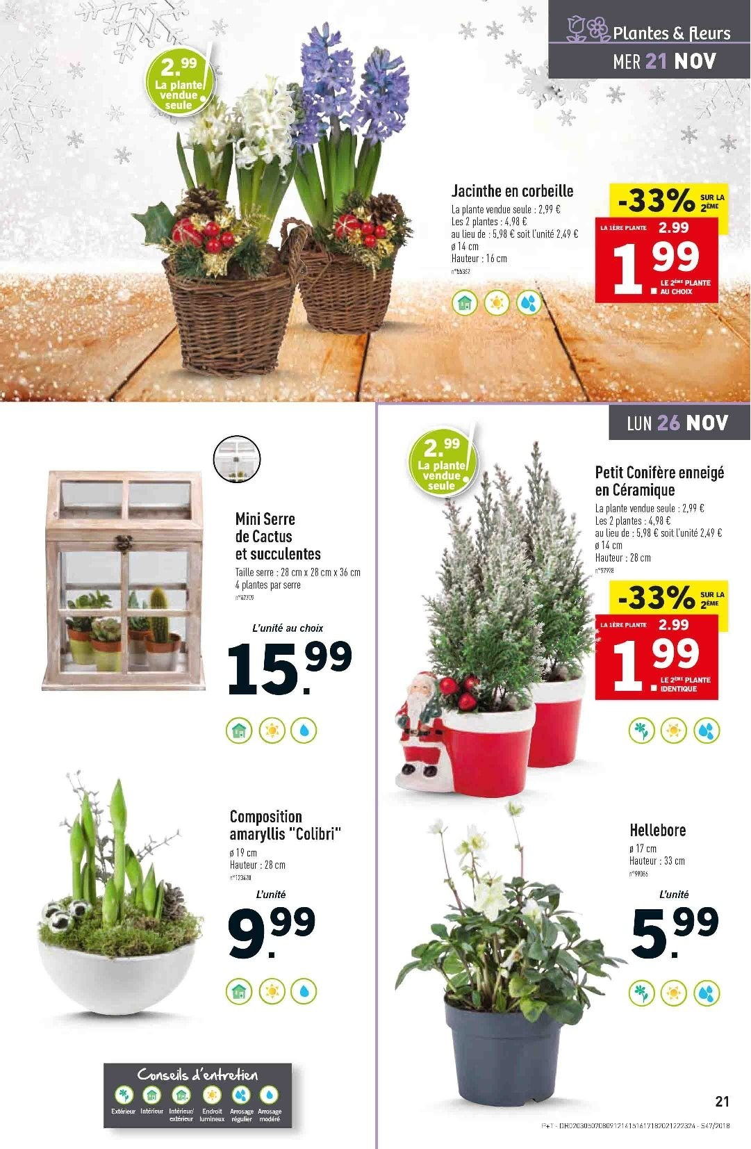Catalogue Lidl - 21.11.2018 - 27.11.2018. Page 21.