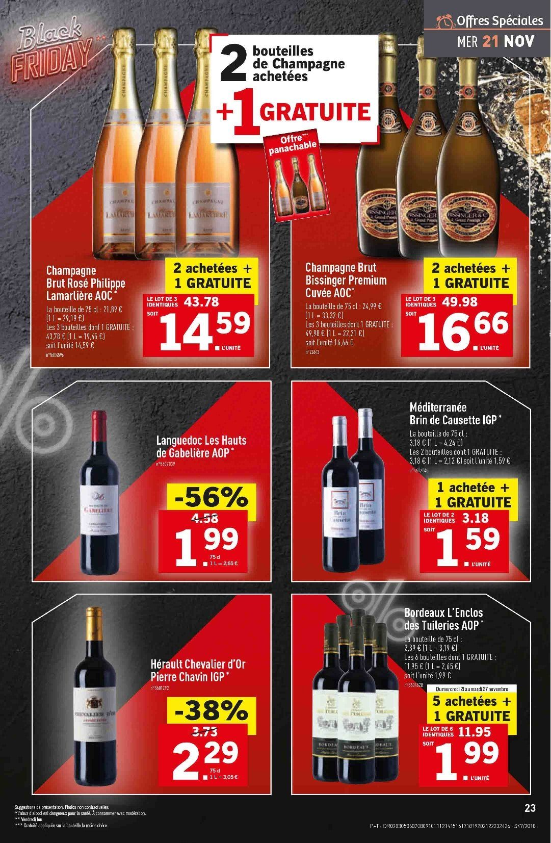 Catalogue Lidl - 21.11.2018 - 27.11.2018. Page 23.