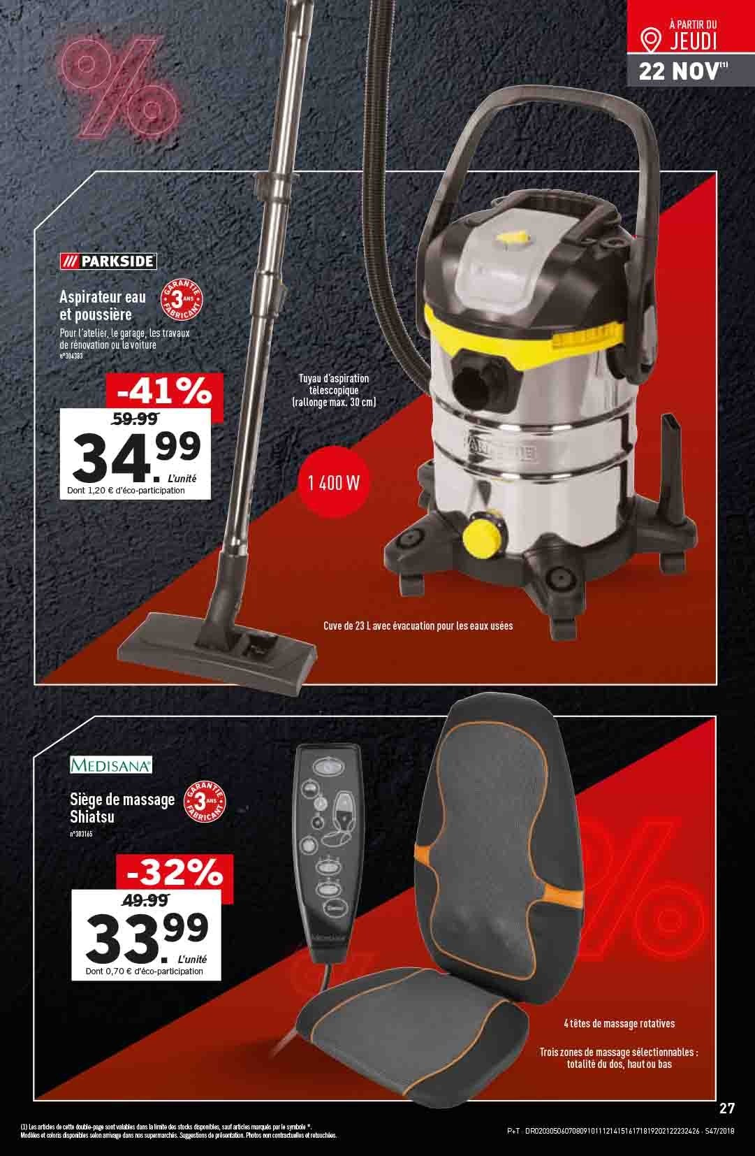 Catalogue Lidl - 21.11.2018 - 27.11.2018. Page 27.