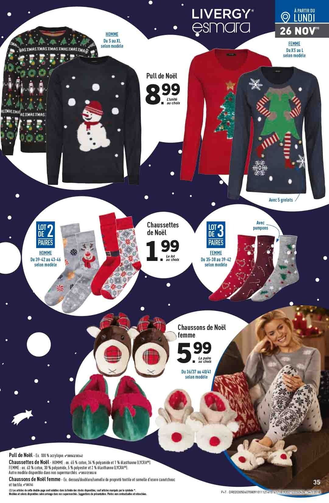 Catalogue Lidl - 21.11.2018 - 27.11.2018. Page 35.