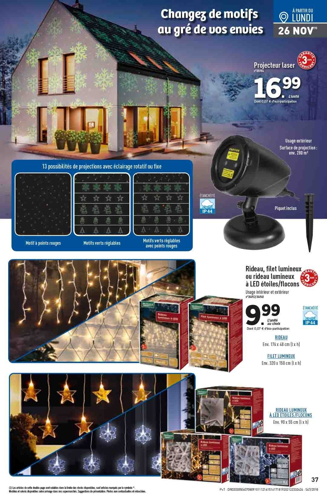 Catalogue Lidl - 21.11.2018 - 27.11.2018. Page 37.