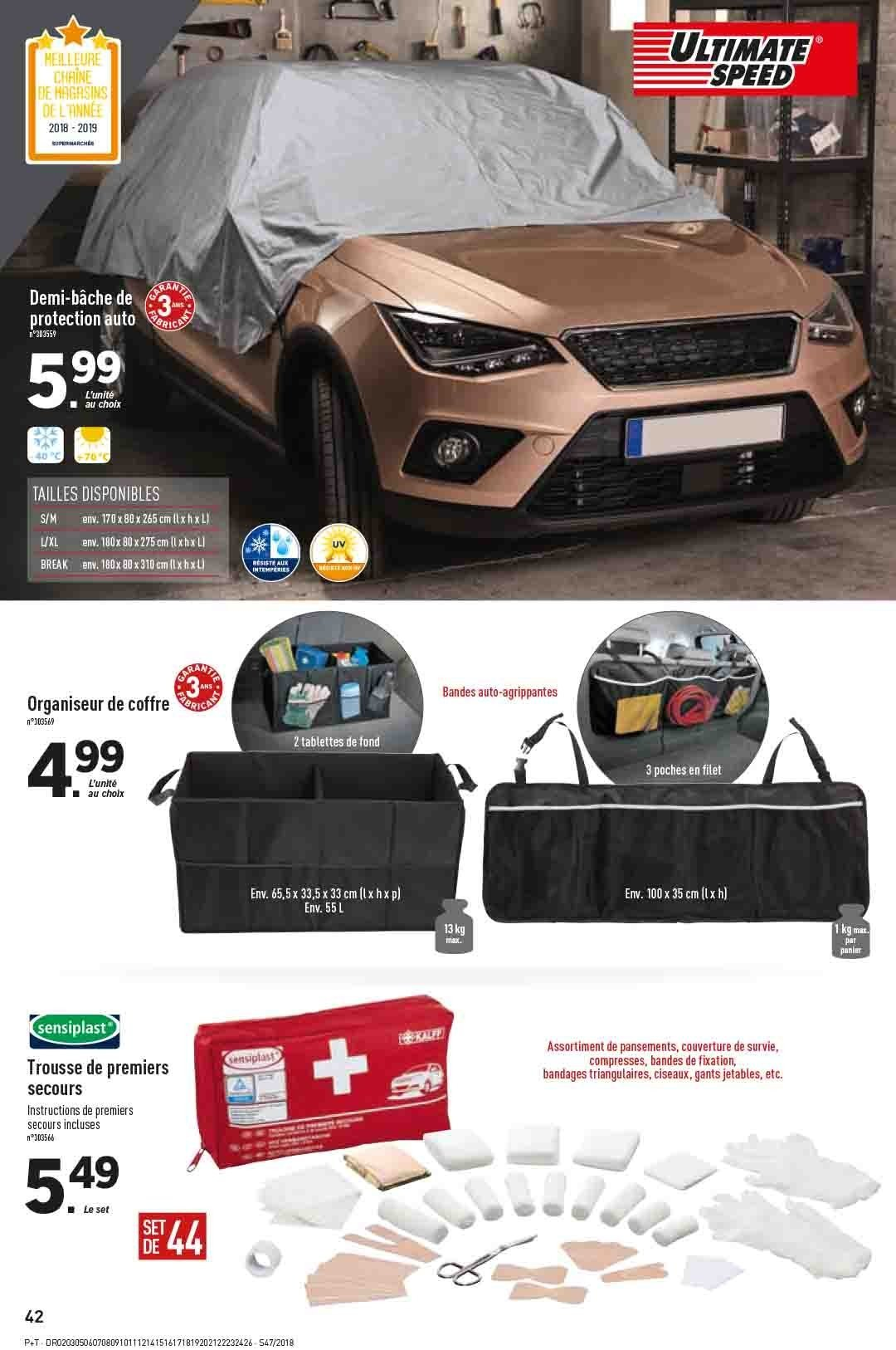 Catalogue Lidl - 21.11.2018 - 27.11.2018. Page 42.