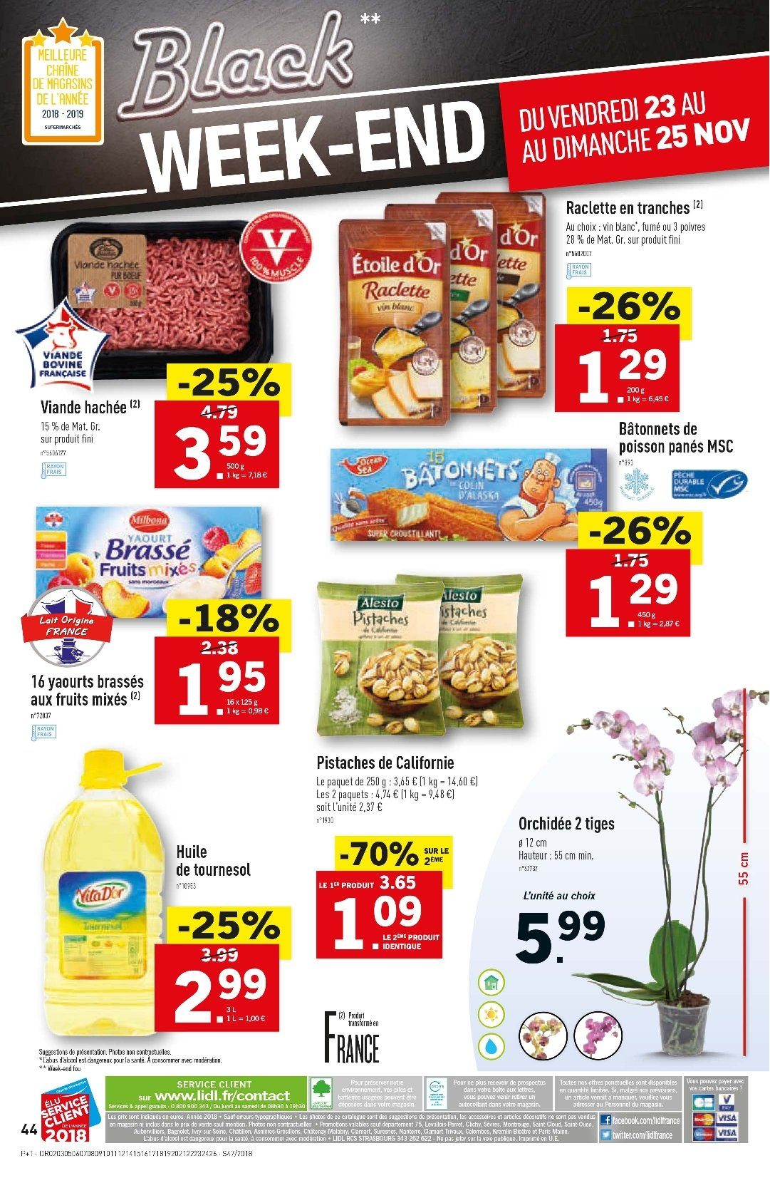 Catalogue Lidl - 21.11.2018 - 27.11.2018. Page 44.