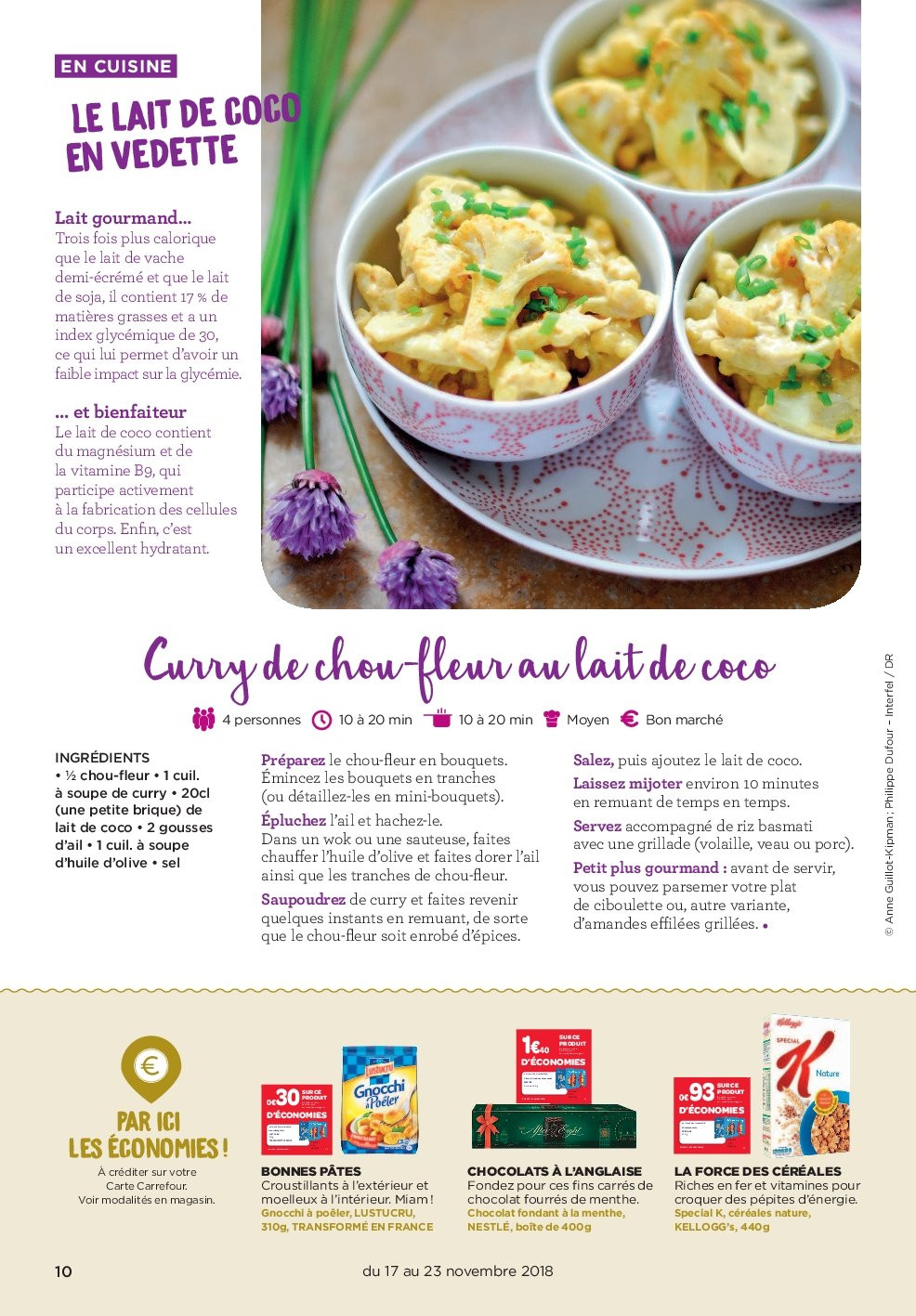 Catalogue Carrefour - 17.11.2018 - 23.11.2018. Page 10.