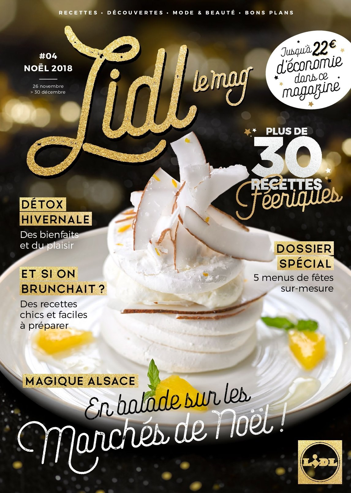 Catalogue Lidl - 26.11.2018 - 30.12.2018. Page 1.